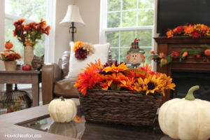 fall decor interior paint updates
